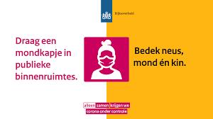 Dringend advies tot dragen van mondkapjes | Nieuwsbericht | Rijksoverheid.nl